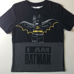 🐸Boys LEGO Batman Short Sleeved Tee